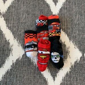 Other - Disney Cars Sock Bundle